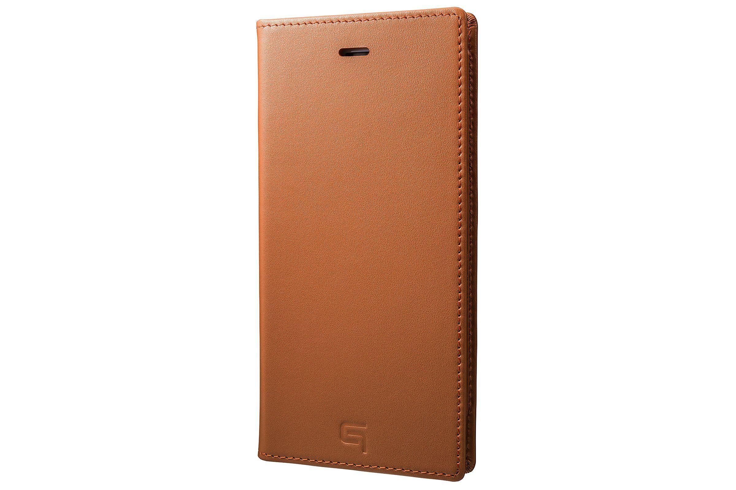 GRAMAS Premium Handytasche »GLC636PTA Echtleder iPhone 8/7Plus hellbraun«