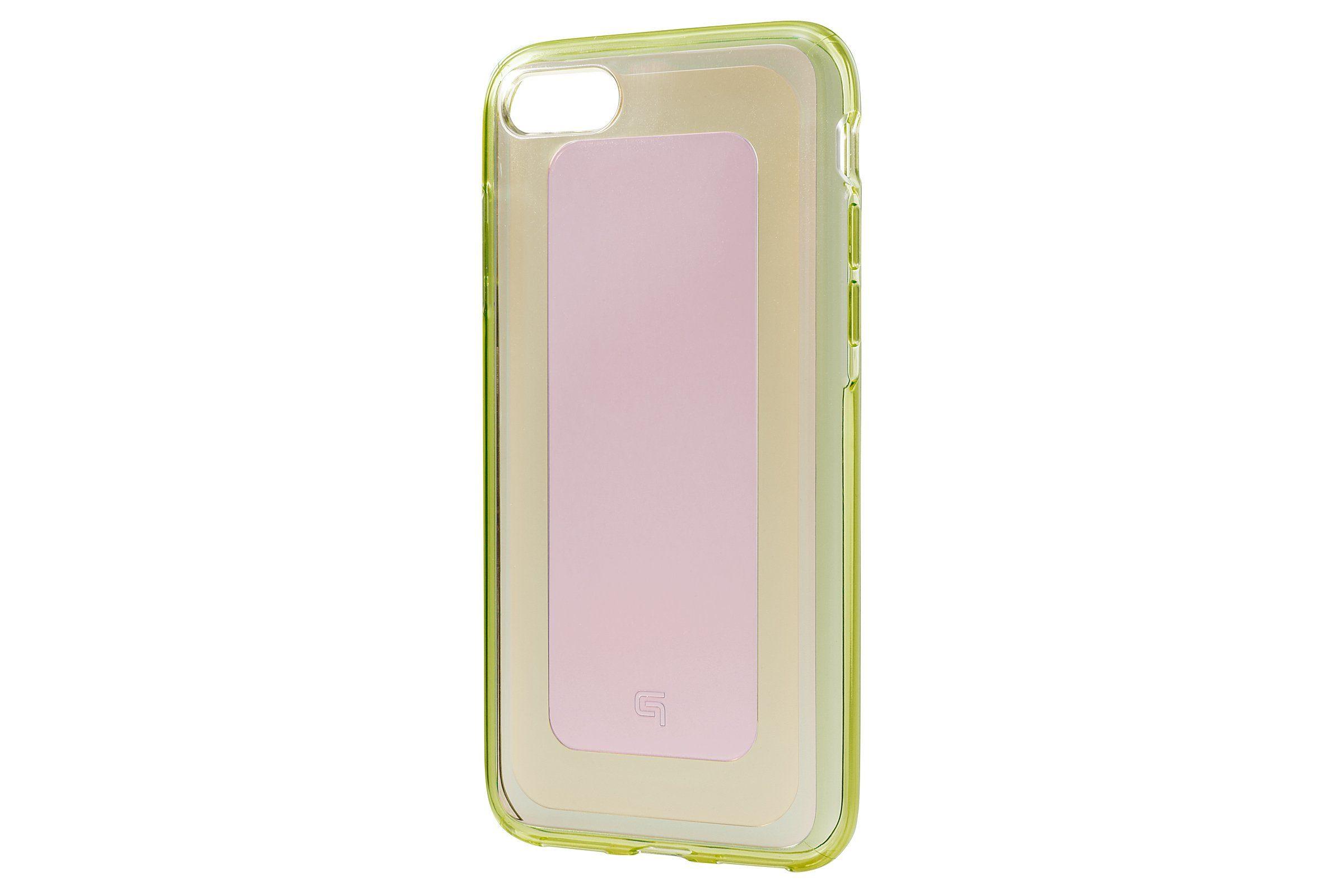 GRAMAS Schutzhülle »GHC446LP Gems Hybrid Hülle iPhone 8/7 rosa-grün«