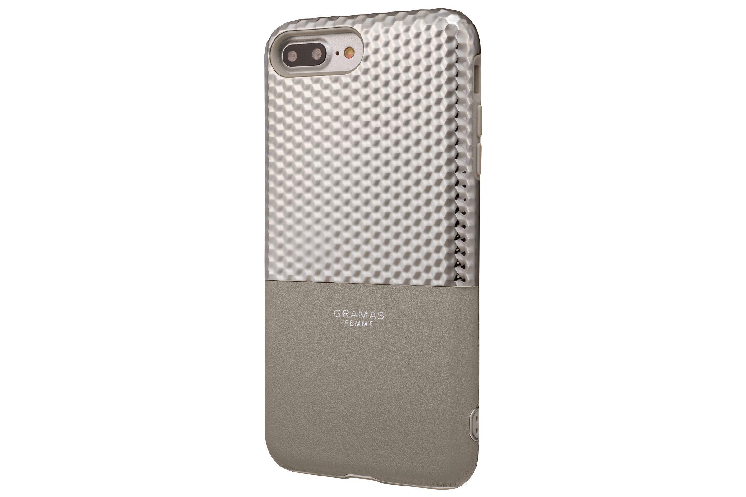 GRAMAS Schutzhülle »FLC2017PSL Hex für iPhone 8/7/6S/6 Plus silber«