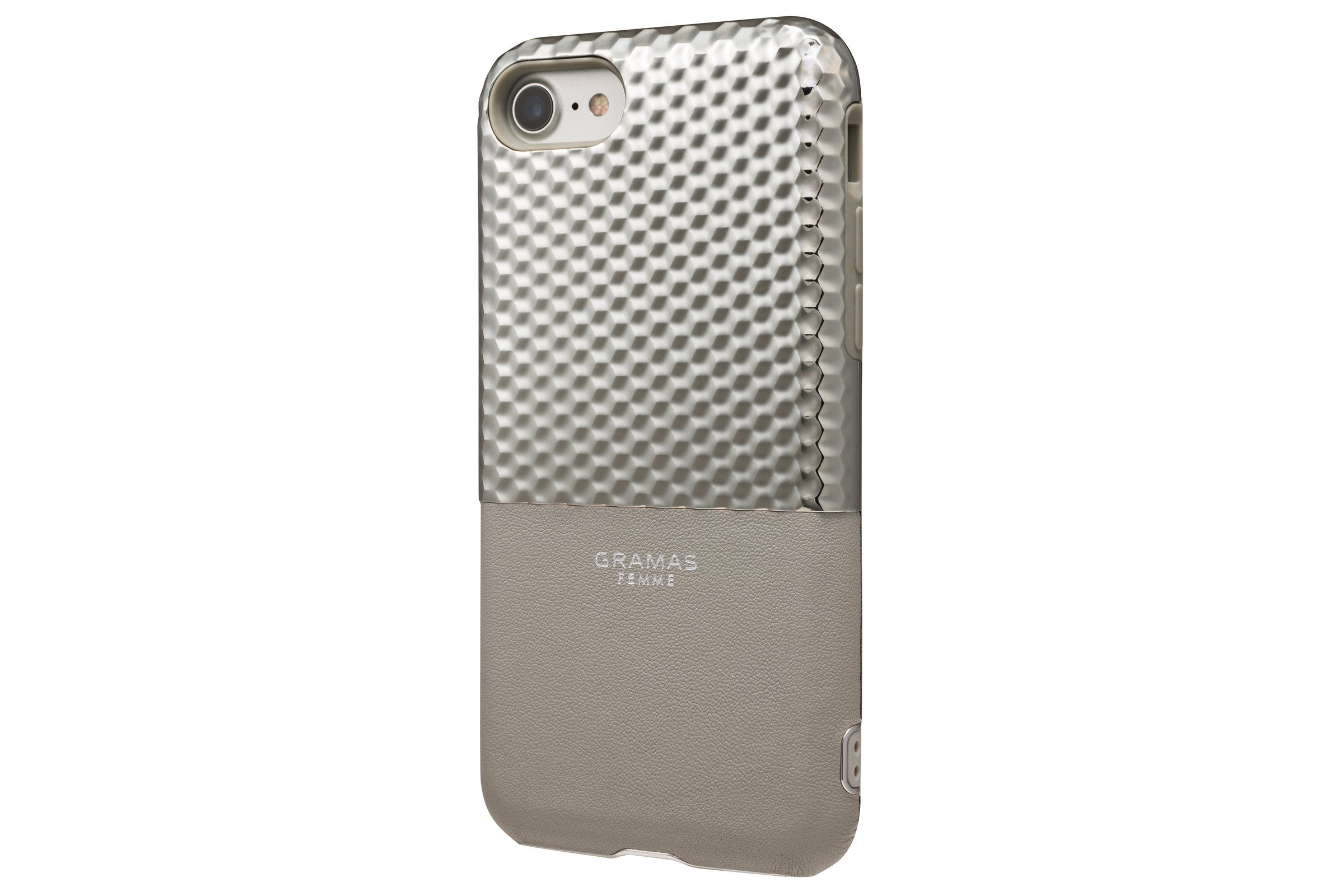 GRAMAS Schutzhülle »FLC2007SL Hex für iPhone 8/7/6S/6 silber«