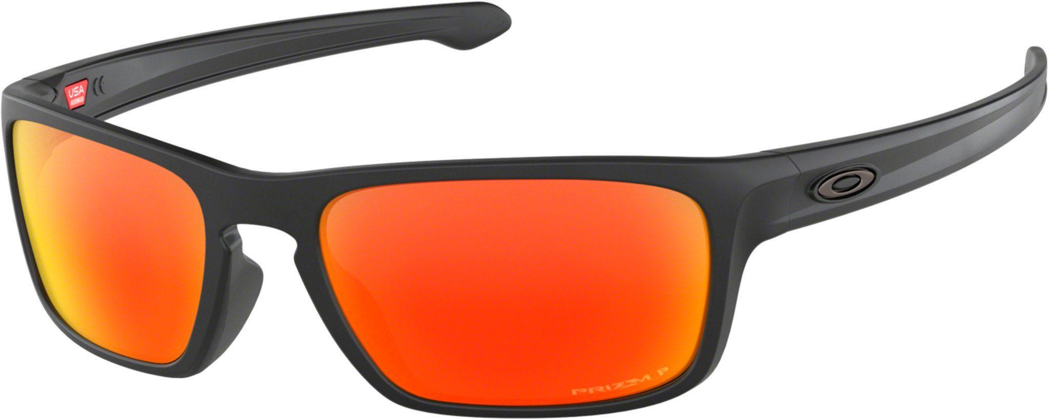 Oakley Radsportbrille »Sliver Stealth Sunglasses«, schwarz, schwarz