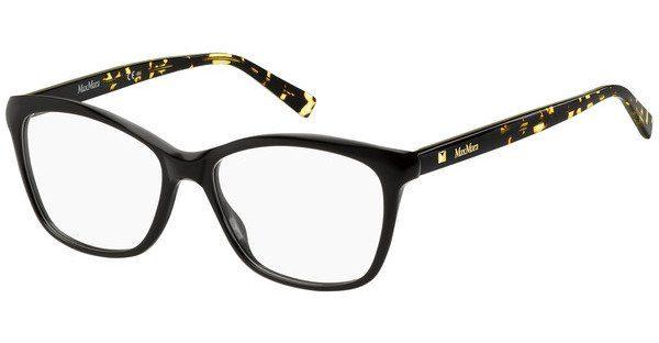 Max Mara Damen Brille » MM 1309«, schwarz, 807 - schwarz