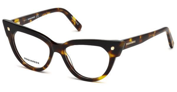 Dsquared2 Damen Brille » DQ5235«, braun, 052 - braun