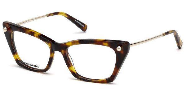 Dsquared2 Damen Brille » DQ5253«, schwarz, A01 - schwarz