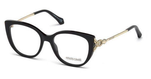 roberto cavalli Roberto Cavalli Damen Brille » RC5053«, schwarz, 001 - schwarz