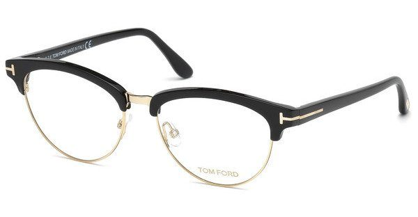 Tom Ford Damen Brille » FT5463«, schwarz, 001 - schwarz