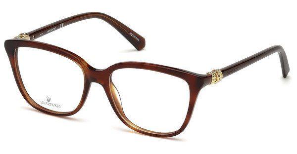 Swarovski Damen Brille » SK5216«, braun, 049 - braun