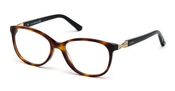 Swarovski Damen Brille » SK5122«, schwarz, 01A - schwarz