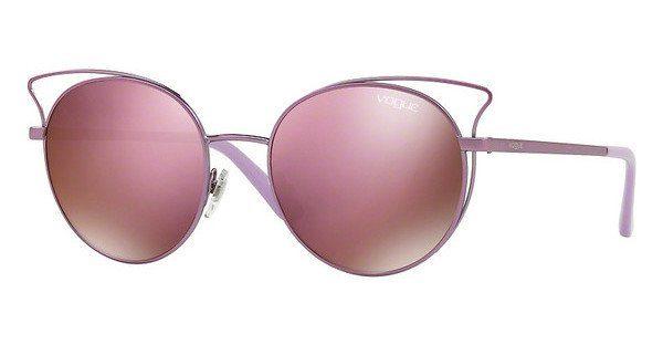 VOGUE Vogue Damen Sonnenbrille »Casual Chic VO4048S«, rosa, 50535R - rosa/ gold