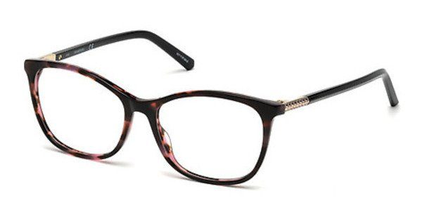 Swarovski Damen Brille » SK5238«, braun, 055 - havana