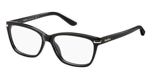 Max Mara Damen Brille » MM 1325/F«, schwarz, 807 - schwarz