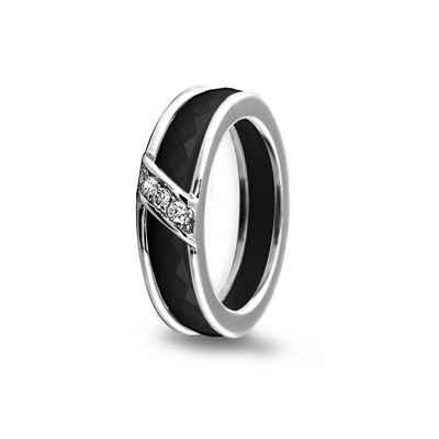MY iMenso Ring-Set mit Zirkonia-Besatz