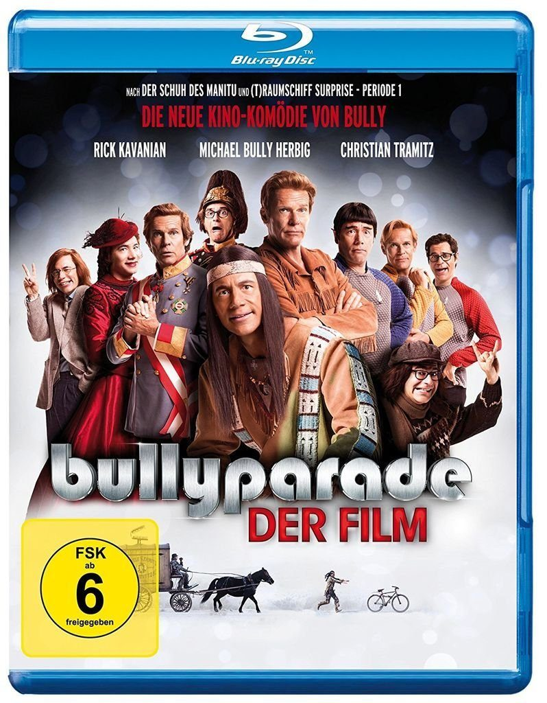 Warner Games BLU-RAY Film »Bullyparade: Der Film«