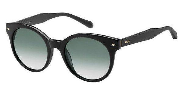Fossil Damen Sonnenbrille » FOS 2055/S«, schwarz, 807/9O - schwarz/grau