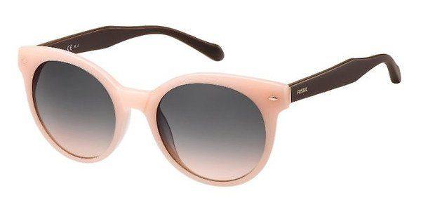 Fossil Damen Sonnenbrille » FOS 2055/S«, rosa, 35J/FF - rosa/ rosa