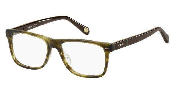 Fossil Herren Brille » FOS 6087«, grün, 0D1 - grün
