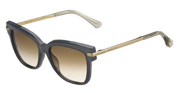 JIMMY CHOO Jimmy Choo Damen Sonnenbrille » ARA/S«, schwarz, N08/9O - schwarz/grau