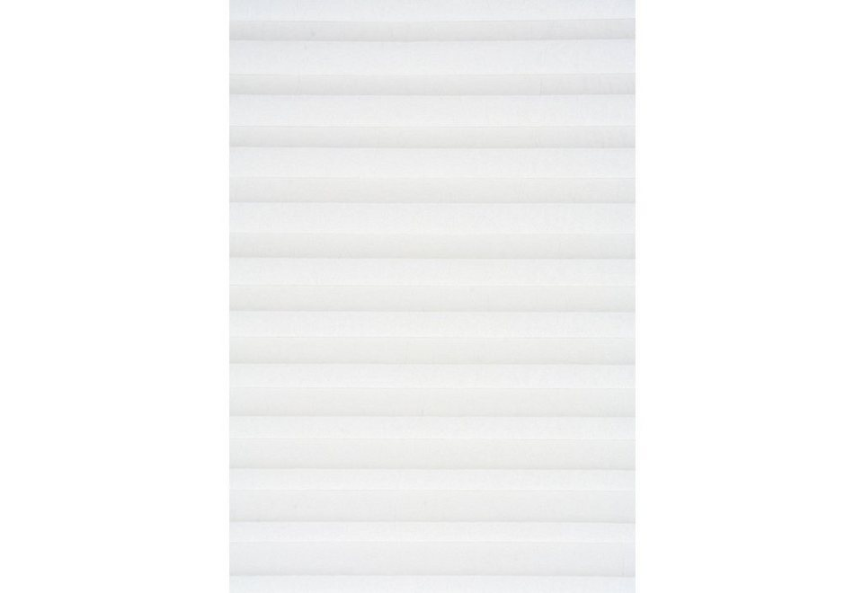 Plissee, Sunlines, Wunschmaß, Lichtschutz in weiß