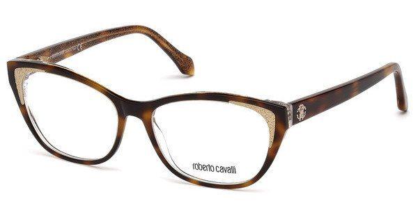 roberto cavalli Roberto Cavalli Damen Brille » RC5033«, braun, 052 - braun