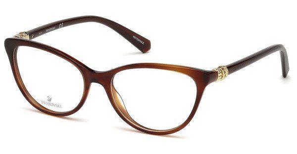 Swarovski Damen Brille » SK5211«, schwarz, 001 - schwarz