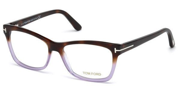 Tom Ford Damen Brille » FT5520«, braun, 052 - braun