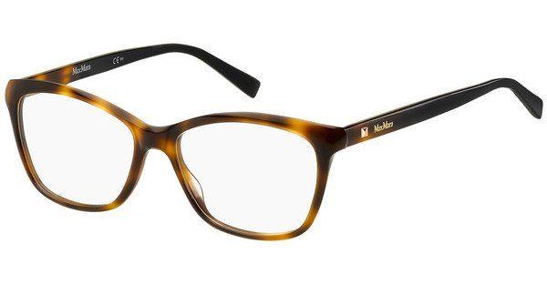 Max Mara Damen Brille » MM 1327«, schwarz, 807 - schwarz