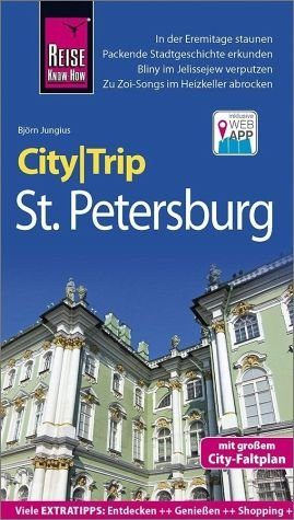 Broschiertes Buch »Reise Know-How CityTrip St. Petersburg«