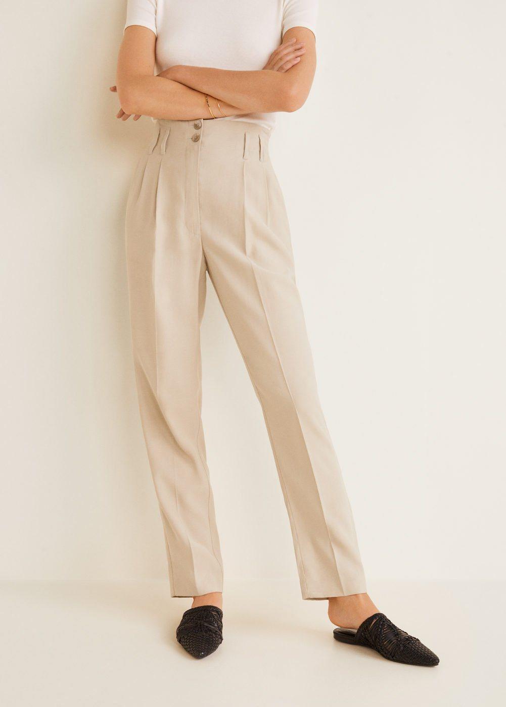 MANGO Loops high waist trousers   Accessoires > Schals & Tücher > Loops   MANGO
