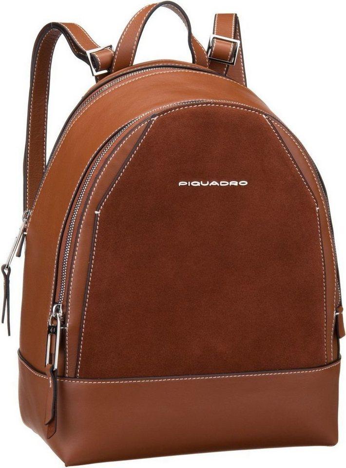 Damen Piquadro  Rucksack  Daypack Muse Special 4327 braun | 08024671467643