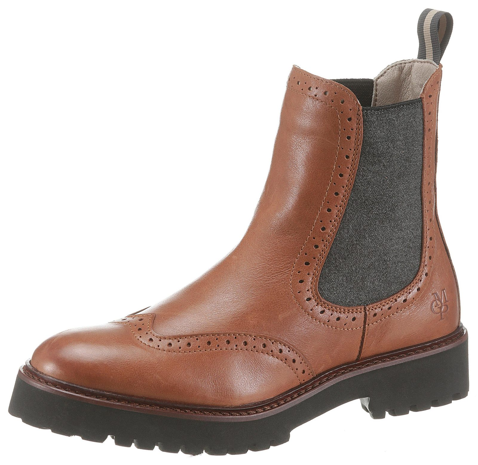 Marc O´Polo Chelseaboots mit stark profilierter Laufsohle