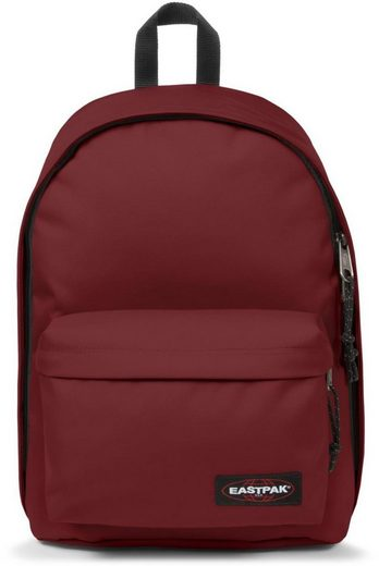 Brave Eastpak Laptopfach »out Of Burgundy« Office Mit Rucksack YqrwEYT