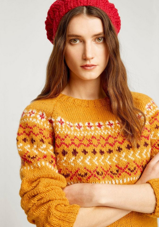 People Tree Strickpullover »Fairisle Jumper« im Norweger-Design