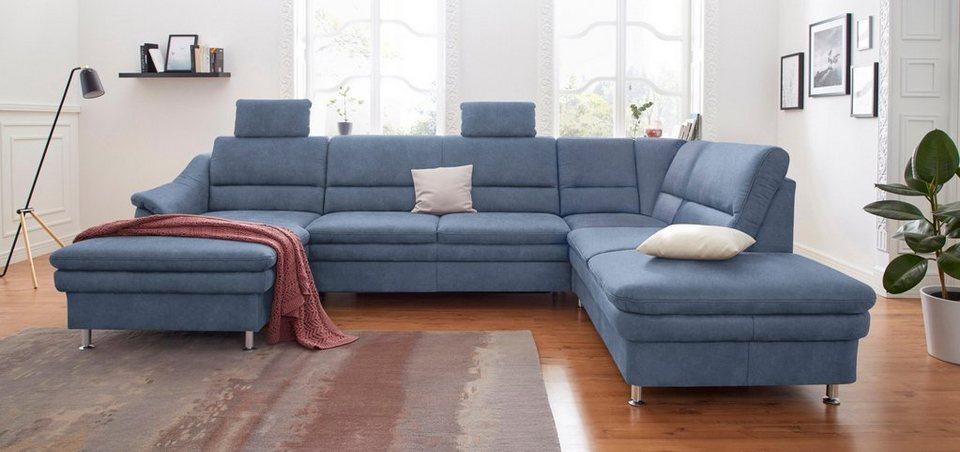 sit more wohnlandschaft mit federkern wahlweise mit bettfunktion und relaxfunktion online. Black Bedroom Furniture Sets. Home Design Ideas