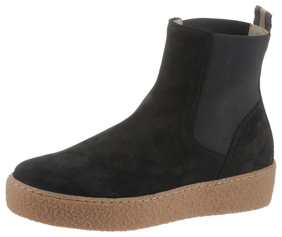 72e7eebc5ba7a8 Marc O Polo Chelseaboots mit angesagter Plateausohle in Kreppoptik ...