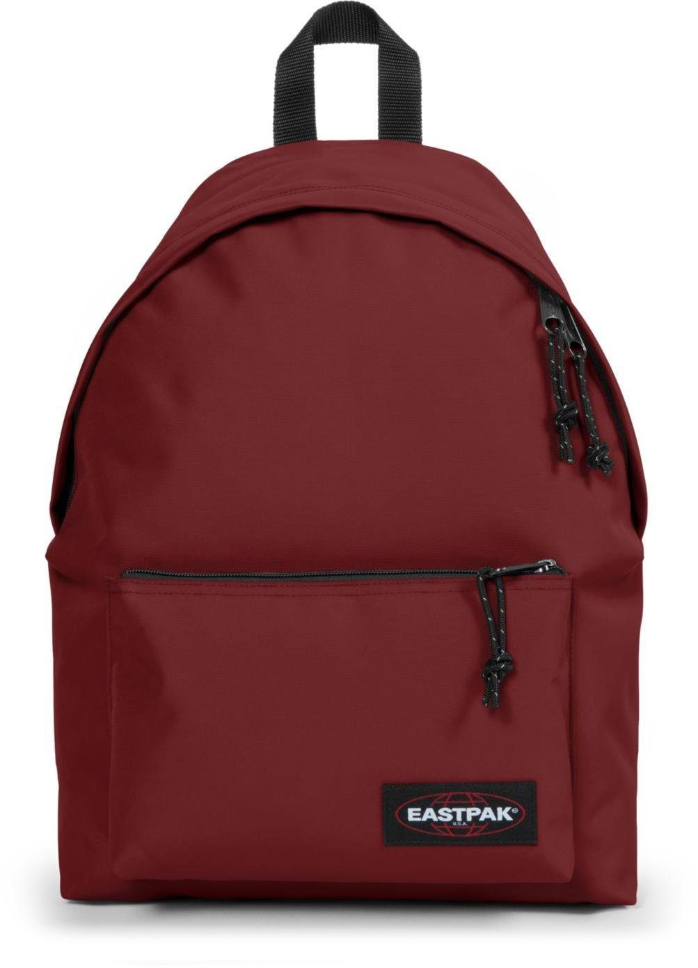 Eastpak Rucksack mit Tabletfach, »PADDED SLEEK'R brave burgundy«