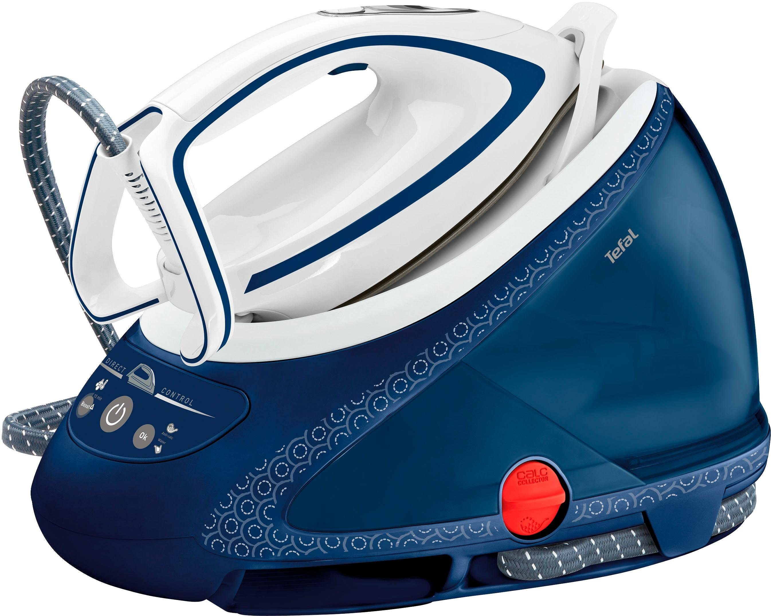 Tefal Dampfbügelstation Pro Express Ultimate Care GV9580, 1900 ml Wassertank