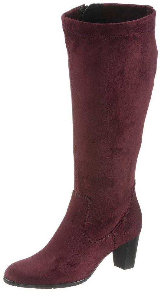 Jenny Weitschaftstiefel mit XL-Schaft | Schuhe > Stiefel > Weitschaftstiefel | Rot | Jeans | Jenny