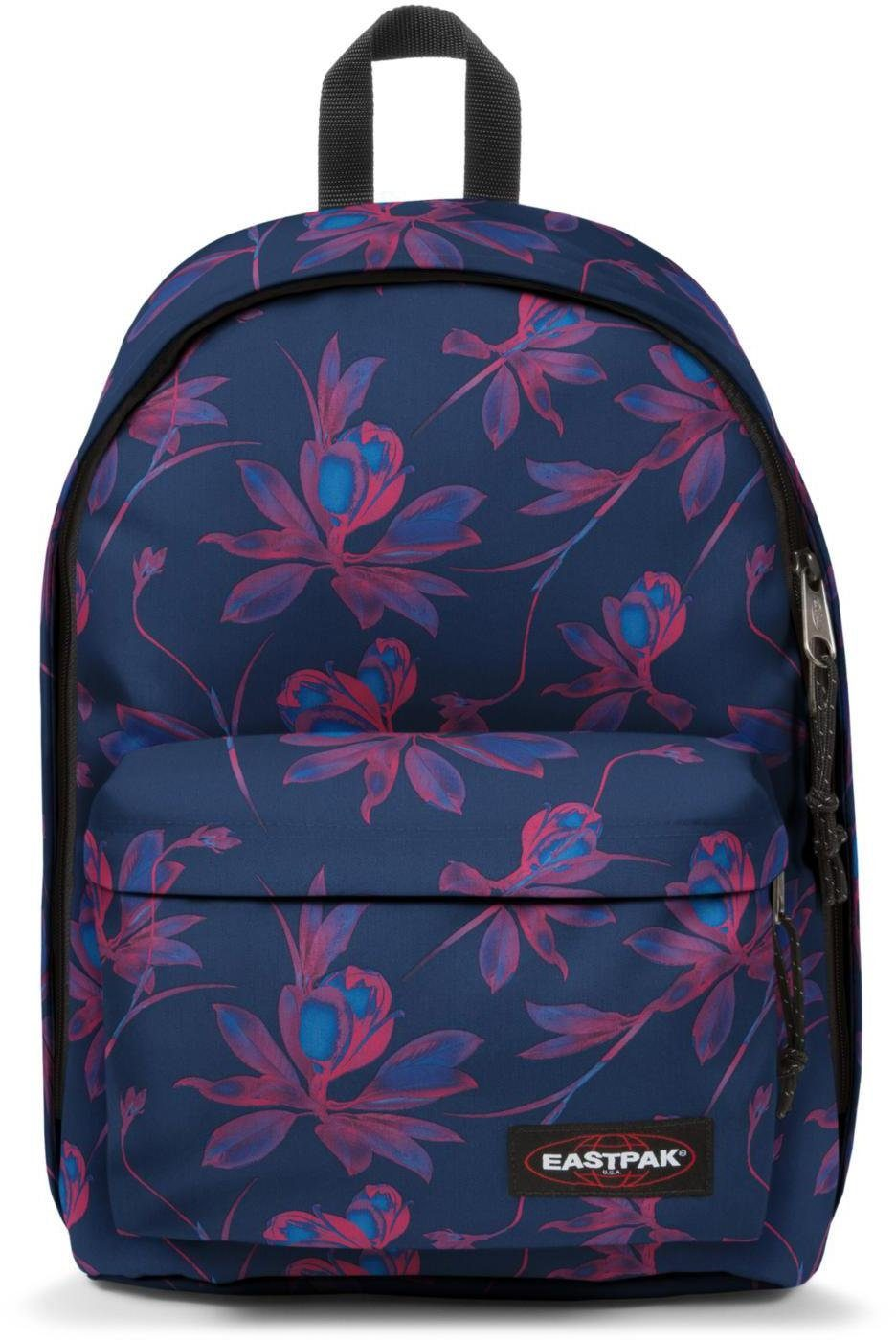Eastpak Rucksack mit Laptopfach, »OUT OF OFFICE glow pink«