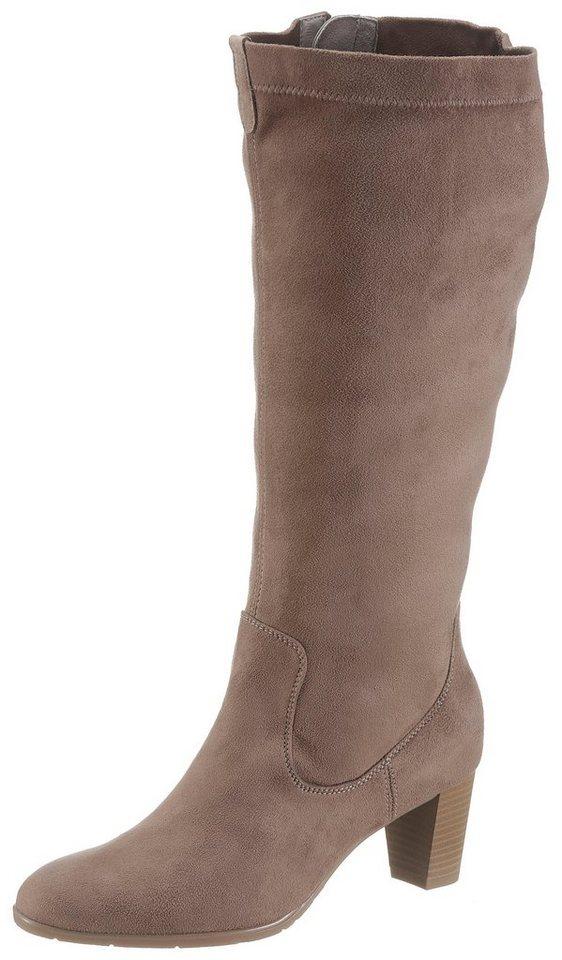 Jenny Weitschaftstiefel mit XL-Schaft | Schuhe > Stiefel > Weitschaftstiefel | Braun | Jeans | Jenny