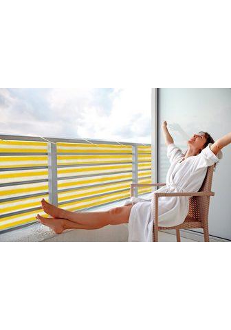 FLORACORD Balkono sienelė BxH: 500x90 cm gelb/we...