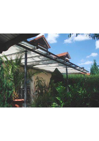 FLORACORD Tentas nuo saulės BxL: 330x140 cm silb...