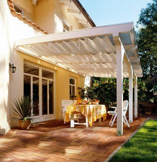 FLORACORD Sonnensegel »Bausatz Universal«, BxL: 330x140 cm, elfenbein