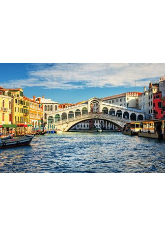 PAPERMOON Fototapetas »Grand Canal and Rialto br...