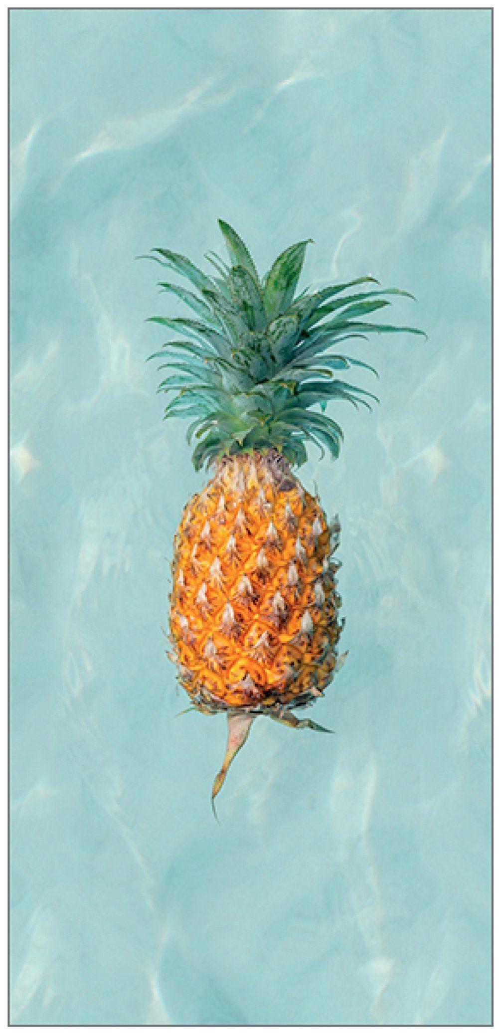 MYSPOTTI Duschrückwand »fresh F3 Happy Pineapple«, 100 x 210 cm