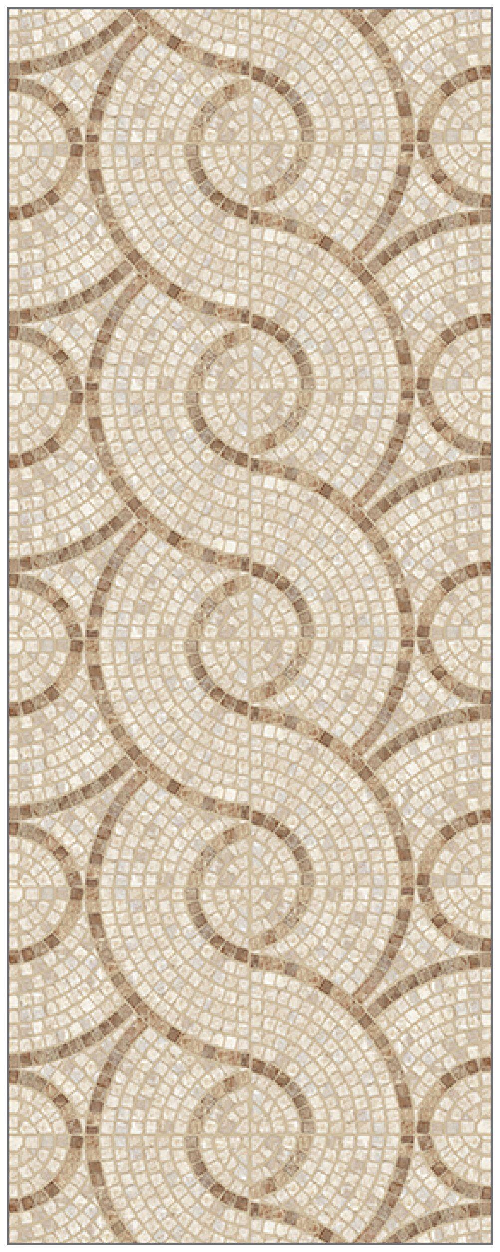MYSPOTTI Duschrückwand »fresh F1 Marble Stone Mosaik«, 100 x 255 cm