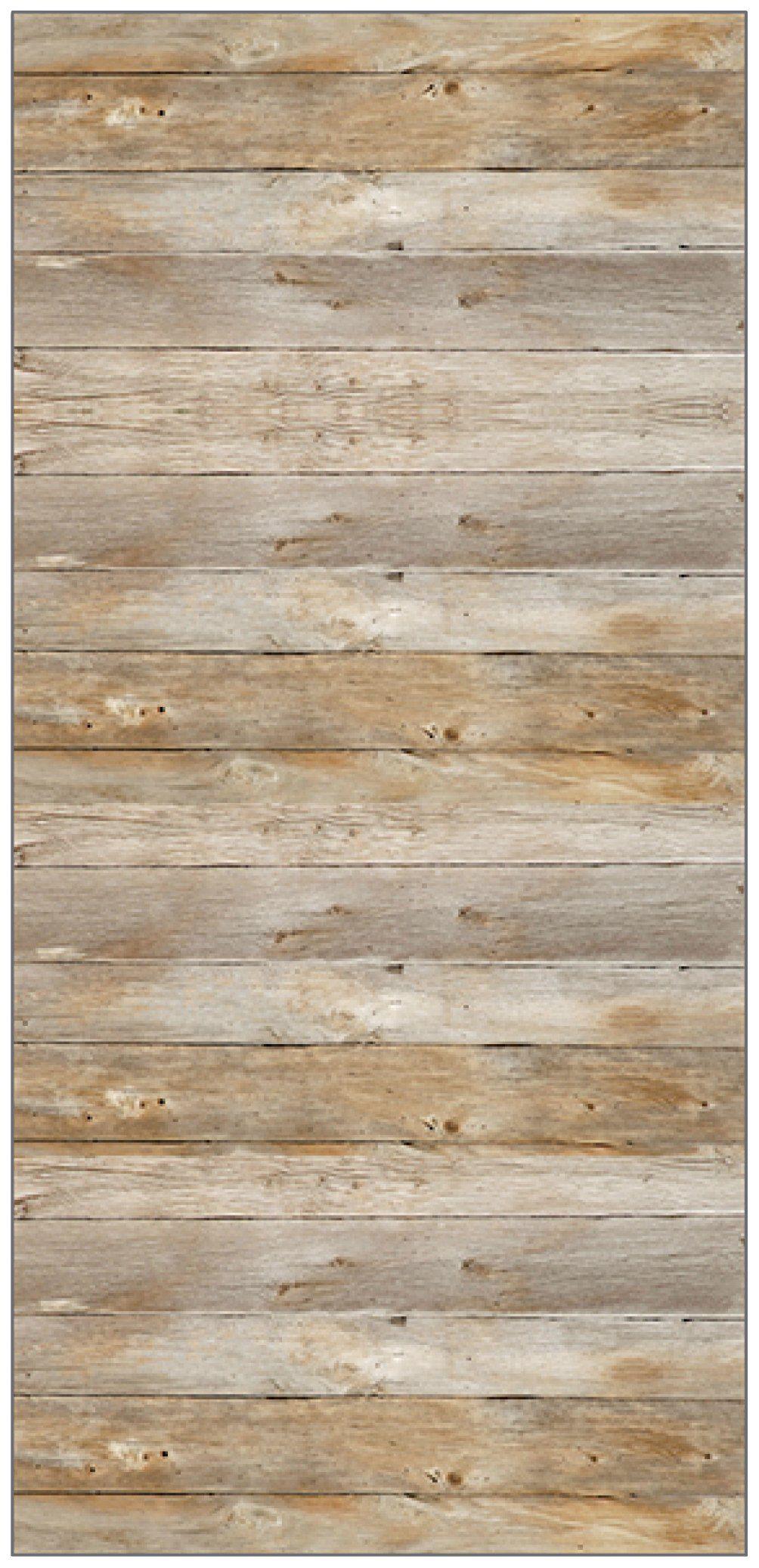 MYSPOTTI Duschrückwand »fresh F3 Holz«, 100 x 210 cm