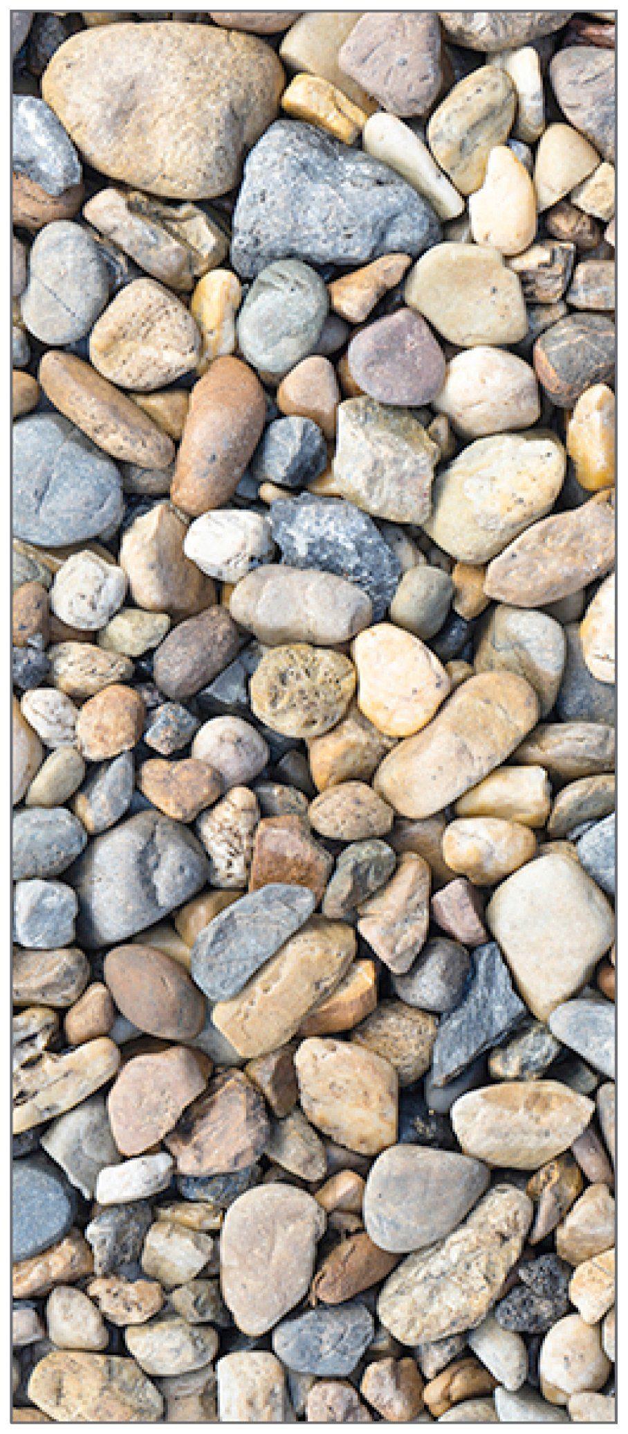 MYSPOTTI Duschrückwand »fresh F2 Kieselsteine«, 90 x 210 cm