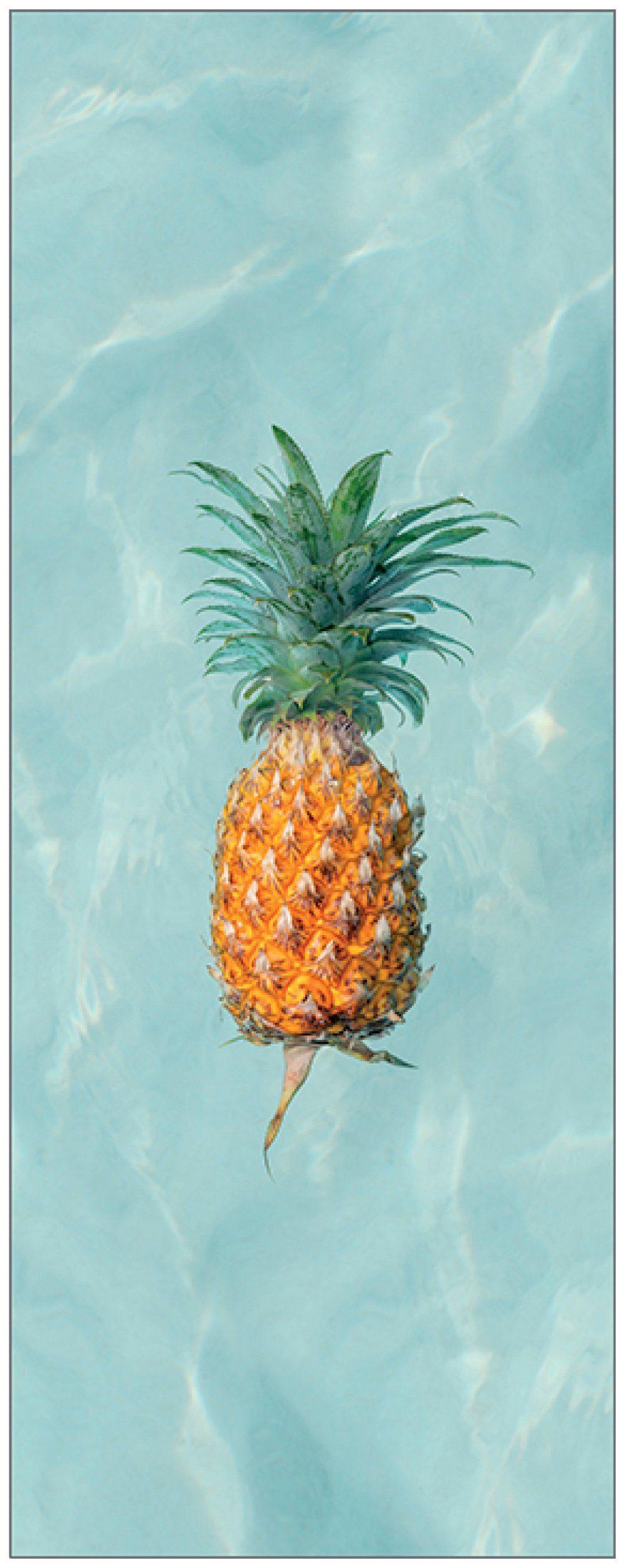 MYSPOTTI Duschrückwand »fresh F1 Happy Pineapple«, 100 x 255 cm