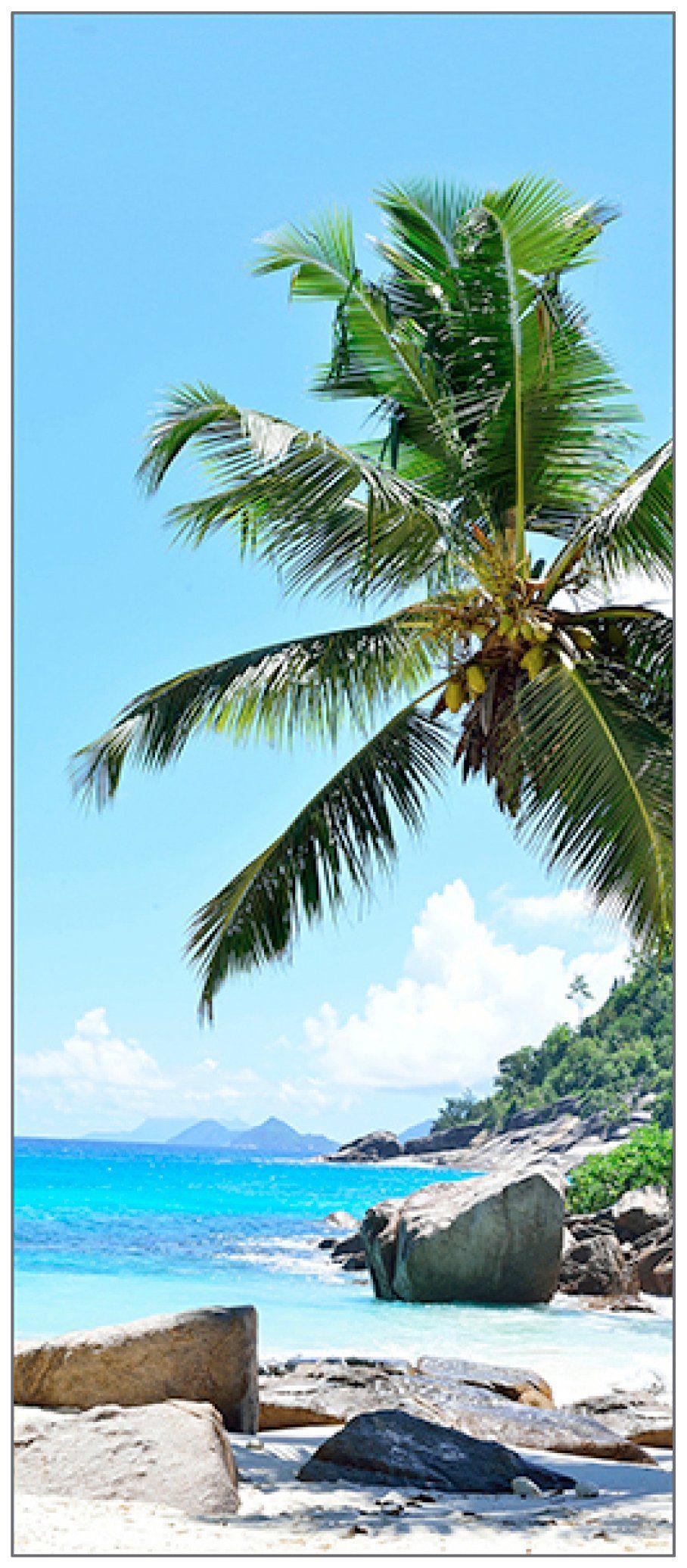MYSPOTTI Duschrückwand »fresh F2 Seychellen«, 90 x 210 cm