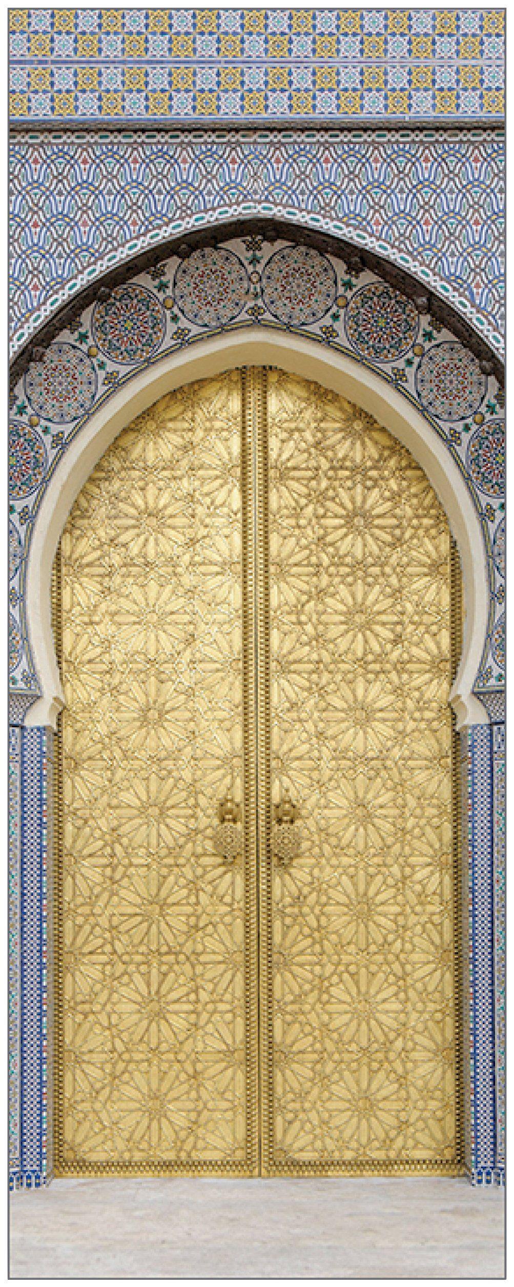 MYSPOTTI Duschrückwand »fresh F1 Ancient Door«, 100 x 255 cm